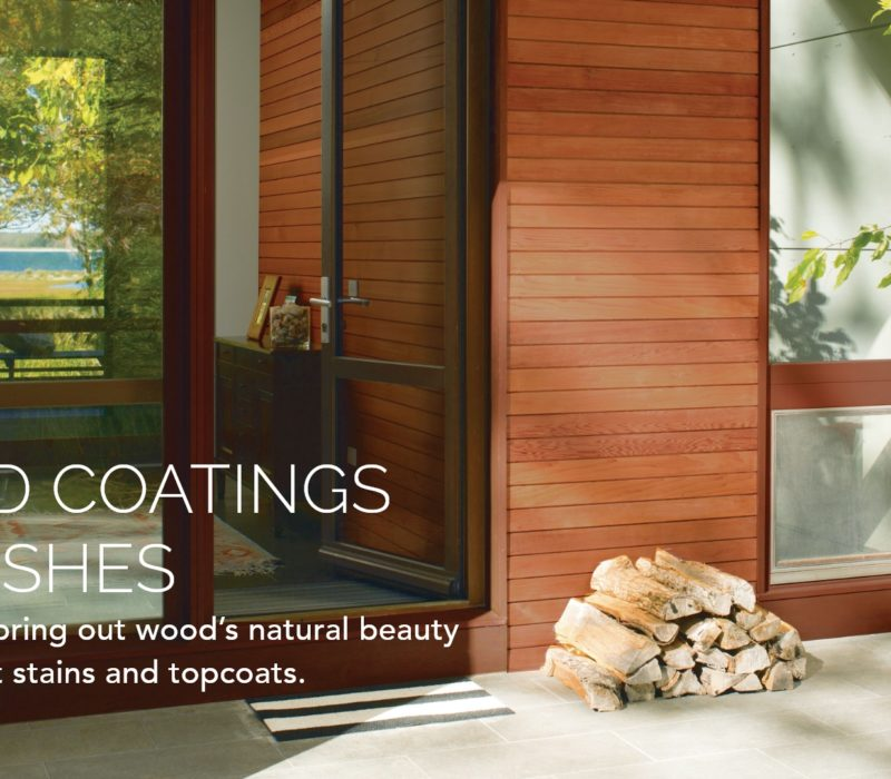 Wood Coatings & Finishes
