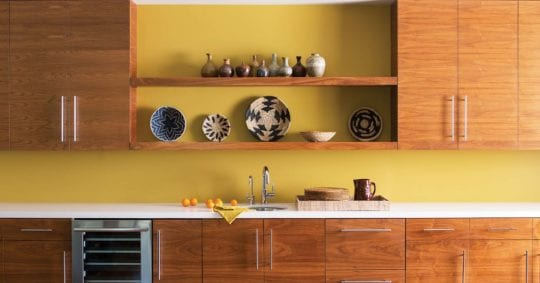 Upgrade to a Colorful Kitchen