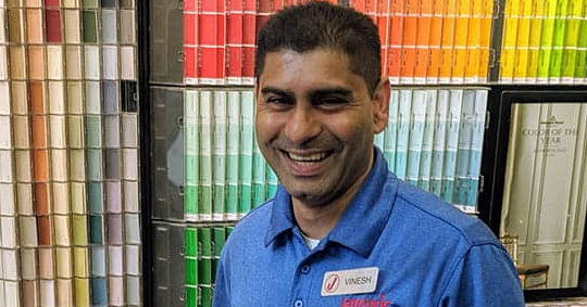 Employee of the Month – Vinesh Ramjattan