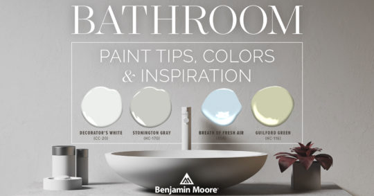 Bathroom Paint Tips, Colors & Inspiration from the Janovic Professionals