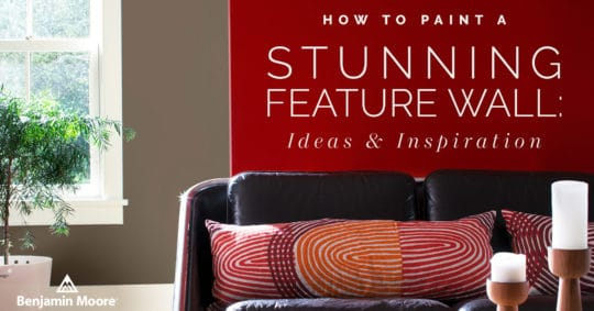 How to Paint a Stunning Feature Wall: Ideas & Inspiration