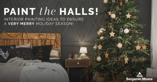 Paint the Halls! Interior Painting Ideas to Ensure a Very Merry Holiday Season!