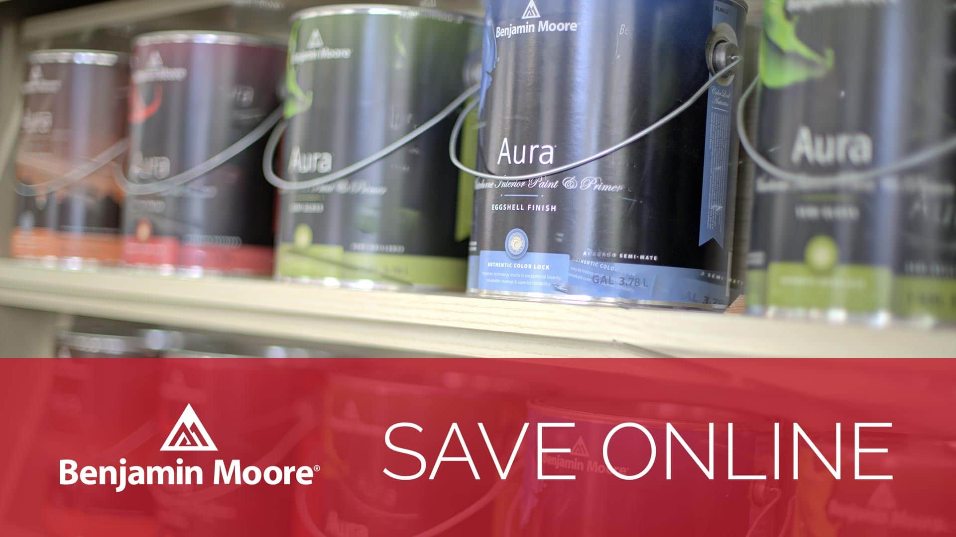 Save $50 on Benjamin Moore 5 Gallons